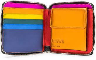 Loewe Rainbow Square Zip Wallet