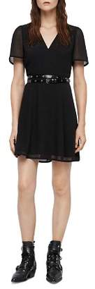 AllSaints Lucia A-Line Dress