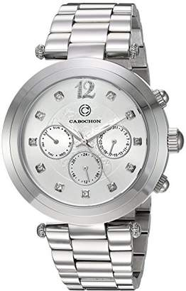 Cabochon Women's 'Papillon' Quartz Stainless Steel Watch