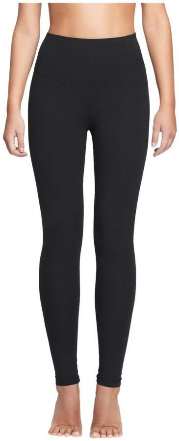 Yummie by Heather Thomson Milan Shaping Support Active Leggings - Black - X-Small