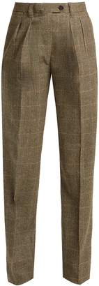 GIULIVA HERITAGE COLLECTION Husband high-rise merino-wool trousers