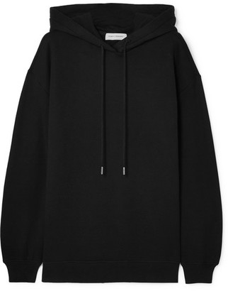 Ninety Percent Laura Oversized Organic Cotton-jersey Hoodie - Black