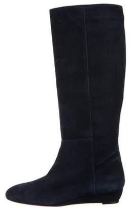 Loeffler Randall Suede Knee-High Boots