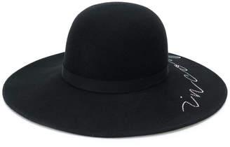 Eugenia Kim scribble trilby hat