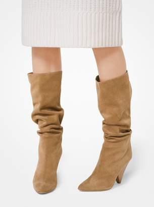 Michael Kors Belinda Suede Boot