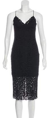 Nicholas Embroidered Slip Dress