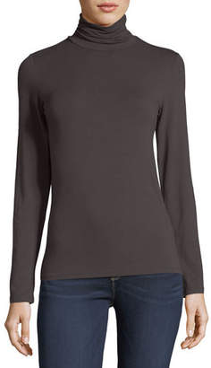 Neiman Marcus Majestic Paris for Soft Touch Long-Sleeve Turtleneck