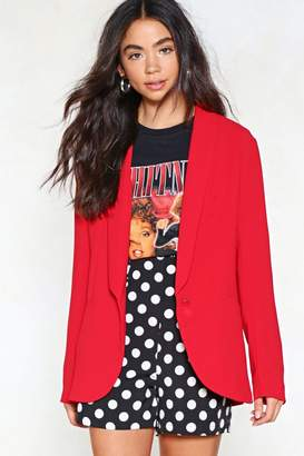 Nasty Gal Do Your Thing Relaxed Blazer