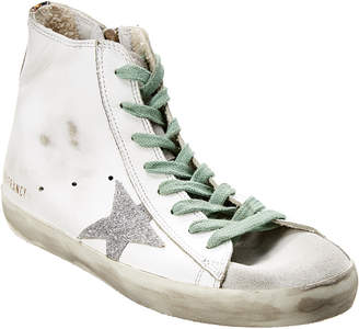 Golden Goose Francy Leather High-Top Sneaker