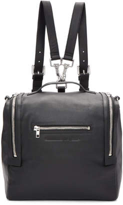 McQ Black Convertible Backpack