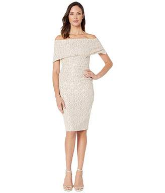 Vince Camuto Off the Shoulder Dress with Collar