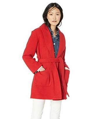 J.Crew Mercantile Women's Belted Wool Wrap Coat