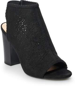 5143c4201561 Lauren Conrad Hazelnut Women s High Heel Ankle Boots