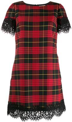 Twin-Set scalloped lace dress