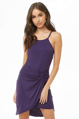 Forever 21 Twist-Front Cami Mini Dress