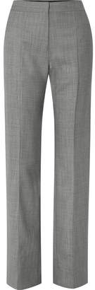Narciso Rodriguez Wool Straight-leg Pants - Gray