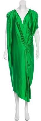 Lanvin Sleeveless Asymmetrical Dress