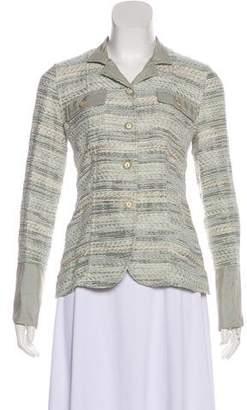 Armani Collezioni Casual Knit Jacket