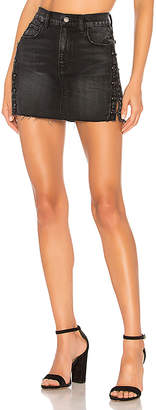 Hudson Jeans The Viper Mini Skirt.