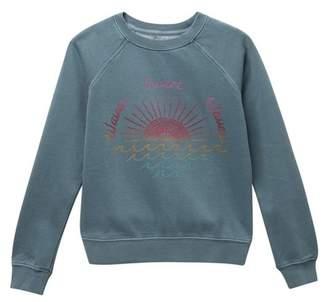 Billabong Whole Heart Sweatshirt (Little Girls & Big Girls)
