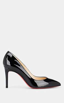 Christian Louboutin Women's Pigalle Patent Leather Pumps - Black