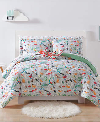 Laura Hart Kids Animal Alphabet Full/Queen 3-Pc. Comforter Set Bedding