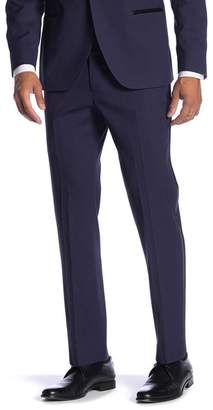 "Co SAVILE ROW Essex Purple Slim Fit Tuxedo Pants - 30-34"" Inseam"