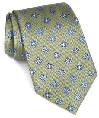 Men's Nordstrom Men's Shop 'Petal Neat' Floral Silk Tie $49.50 thestylecure.com
