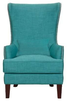 Picket House Furnishings Karson High Back Upholstered Chair Teal - Picket House Furnishings®