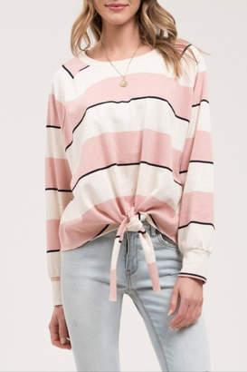 Blu Pepper Striped Sweatshirt