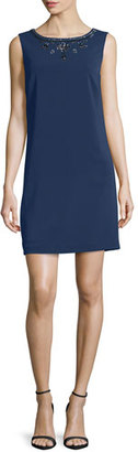 Laundry By Shelli Segal Sleeveless Embellished Cocktail Dress, Inkblot $295 thestylecure.com