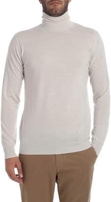 Paolo Pecora Beige Turtle Neck Sweater