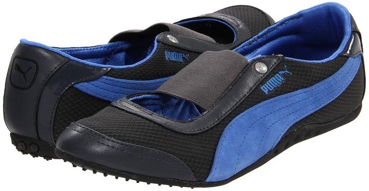 Puma Sneakerina Ellipse Wn's (Dark Shadow/Palace Blue) - Footwear