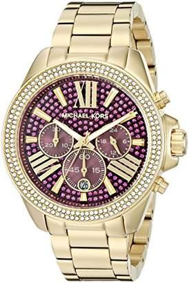 Michael Kors Women's Wren Gold-Tone Watch MK6290