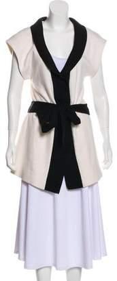 Alice + Olivia Wool Longline Vest