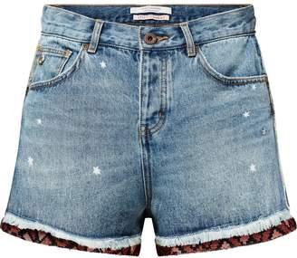Scotch & Soda Contrast Trim Denim Shorts