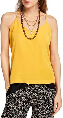 Scotch & Soda Mix Media Racerback Tank Top