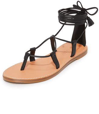 Madewell Kana Lace Up Gladiator Sandals $69.50 thestylecure.com