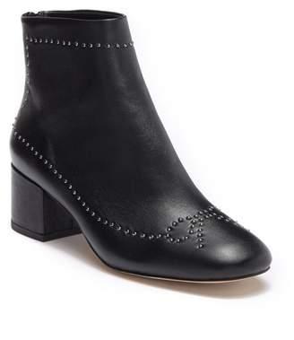 Donald J Pliner Cafne Bow Studded Leather Bootie