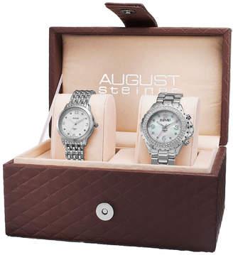 August Steiner Women's Set Of Two Watches