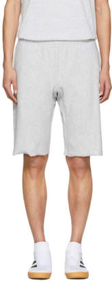 Champion Reverse Weave Grey Warm-Up Shorts