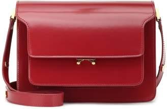 Marni Trunk leather shoulder bag