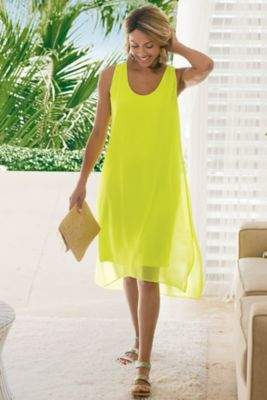 Soft Surroundings Modern Femme Dress