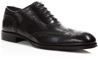To Boot New York Black Duke Wingtip Oxfords $450 thestylecure.com