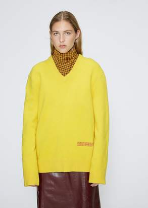Calvin Klein Lambswool V-neck Sweater