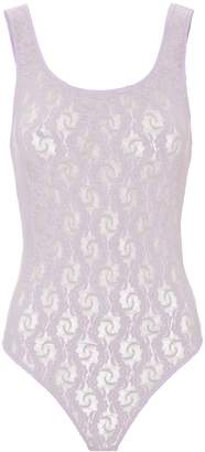 Only Hearts Lilac Lace Bodysuit