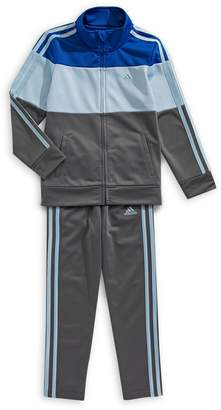 adidas Little Boy's Colourblock 2-Piece Track Suit