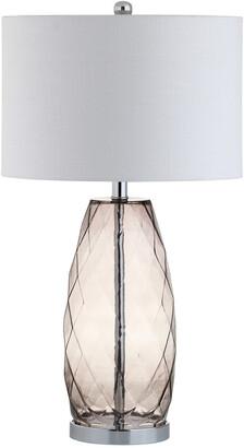 Jonathan Y Designs Designs 26.5In Juliette Grey Table Lamp