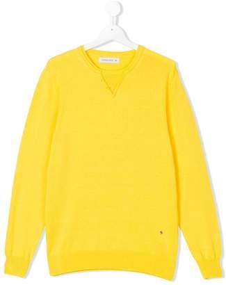 Manuel Ritz Kids TEEN buttoned collar sweatshirt