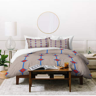 Deny Designs Holli Zollinger Indie Star Twin Duvet Set Bedding